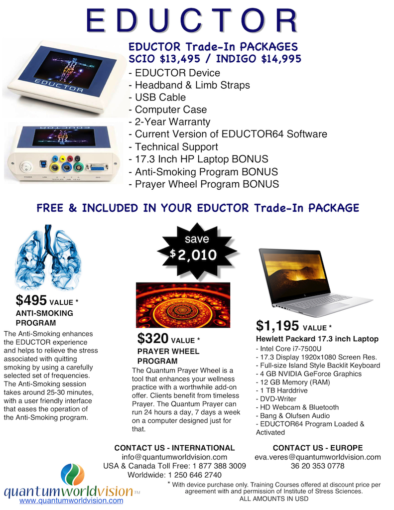 EDUCTOR Trade-In